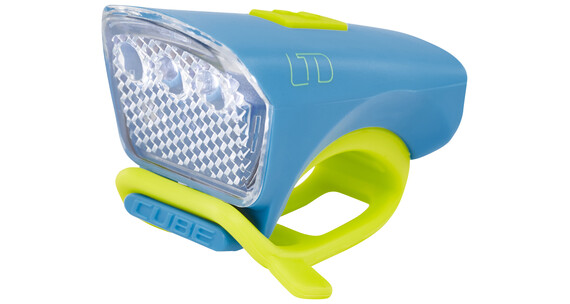 Cube LTD Frontscheinwerfer white LED blue'n'green